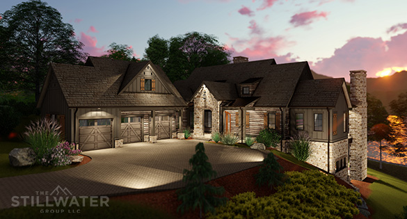 Stillwater Group built home in the Reserve at Lake Keowee